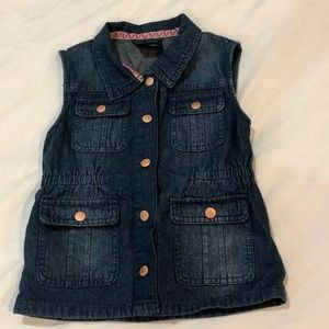 5T Oshkosh Denim Vest